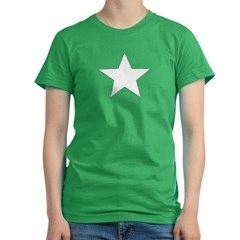 Star Women's Fitted T-Shirt (dark)