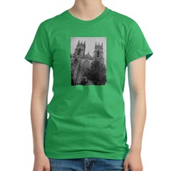 York Minster Women's Fitted T-Shirt (dark)
