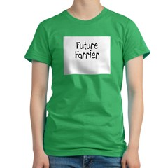 Future Farrier Women's Fitted T-Shirt (dark)