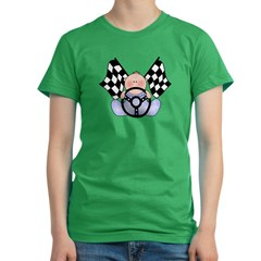 Lil Race Winner Baby Boy Women's Fitted T-Shirt (dark)
