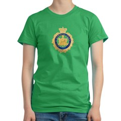 Edmonton Police Women's Fitted T-Shirt (dark)