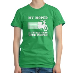 My Moped Women's Fitted T-Shirt (dark)