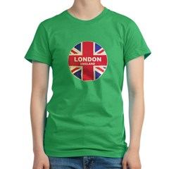 UNION JACK LONDON Women's Fitted T-Shirt (dark)