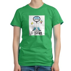 Medical Lab Tech Women's Fitted T-Shirt (dark)