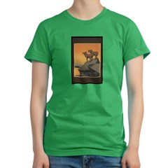 The National Parks Preserve W Women's Fitted T-Shirt (dark)