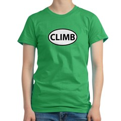 CLIMB Women's Fitted T-Shirt (dark)