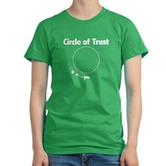 Circle of Trus Women's Fitted T-Shirt (dark)