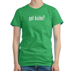 GOT KISHU Women's Fitted T-Shirt (dark)