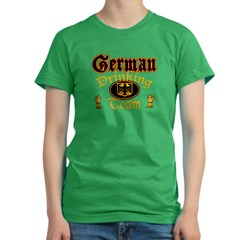 German Drinking Team Women's Fitted T-Shirt (dark)