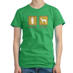 Rhodesian Ridgeback Women's Fitted T-Shirt (dark)