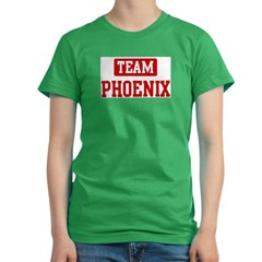 Team Phoenix Women's Fitted T-Shirt (dark)
