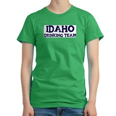 Idaho drinking team Women's Fitted T-Shirt (dark)