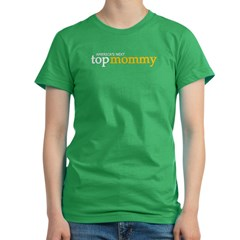 America's Next Top Mommy Women's Fitted T-Shirt (dark)