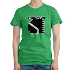 Thompson High Warriors Women's Fitted T-Shirt (dark)
