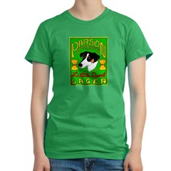 Parson Russell Terrier Women's Fitted T-Shirt (dark)