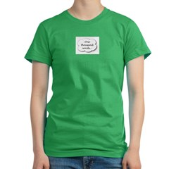 1000_words_4.jpg Women's Fitted T-Shirt (dark)