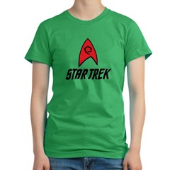 Star Trek Engineering Women's Fitted T-Shirt (dark)
