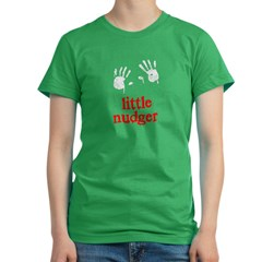 Little Nudger Women's Fitted T-Shirt (dark)