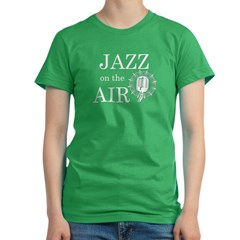 jazz_1_white Women's Fitted T-Shirt (dark)