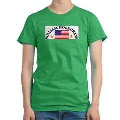William Rosecrans, USA Women's Fitted T-Shirt (dark)