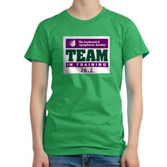 Team in Training - 26.2 Women's Fitted T-Shirt (dark)