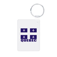 Quebec Aluminum Photo Keychain