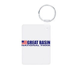 Great Basin National Park Aluminum Photo Keychain