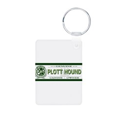PLOTT HOUND Aluminum Photo Keychain
