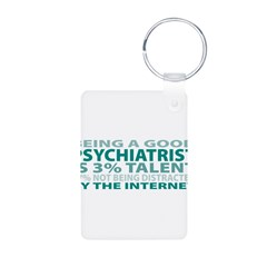 Good Psychiatrist Aluminum Photo Keychain
