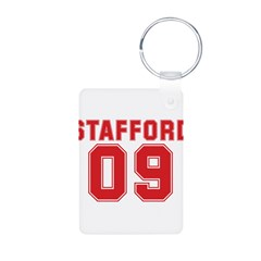 STAFFORD 09 Aluminum Photo Keychain