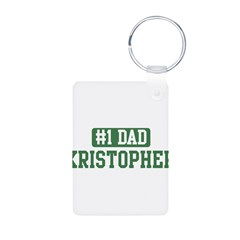 Number 1 Dad - Kristopher Aluminum Photo Keychain