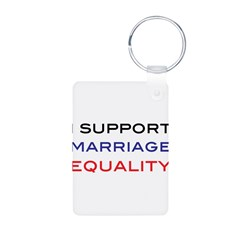 marriage Aluminum Photo Keychain
