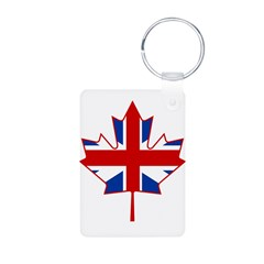 UK Maple Aluminum Photo Keychain