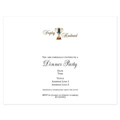 Trophy Husband Ash Grey 5.5 x 4.25 Flat Cards