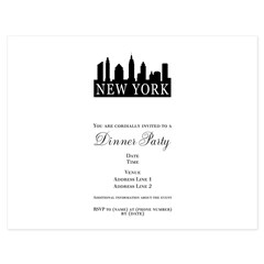 New York Skyline 5.5 x 4.25 Flat Cards