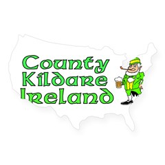 County Kildare, Ireland Rectangle USA Sticker