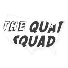 THE QUAD SQUAD Rectangle USA Sticker