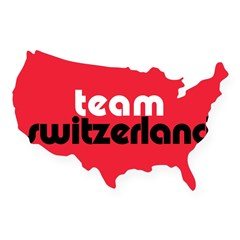 Team Switzerland Rectangle USA Sticker