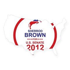 Sherrod Brown USA Sticker
