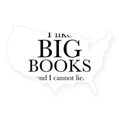 I LIke Big Book USA Sticker