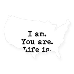 I am USA Sticker