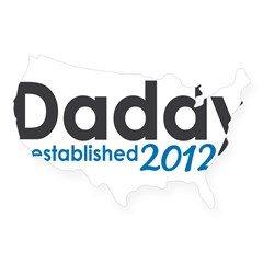 Daddy Established 2012 USA Sticker