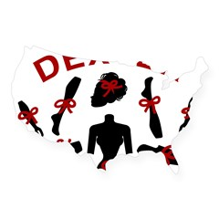 Dexter Dismembered Doll USA Sticker