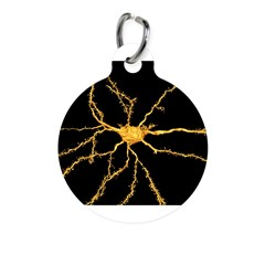 Brain neuron - Round Pet Tag