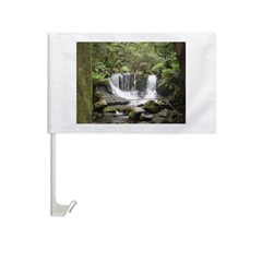 Elph horseshoe Falls,Tasmania Car Flag