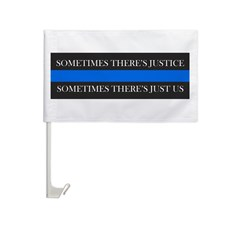 Just Us Car Flag