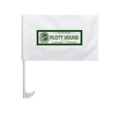 PLOTT HOUND Car Flag