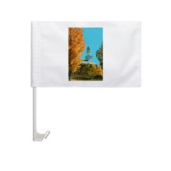 Vermont Country Church Car Flag