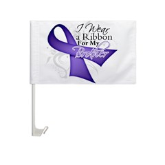 Brother Hodgkins Lymphoma Car Flag