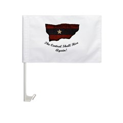 the Central Shall Rise Again Car Flag